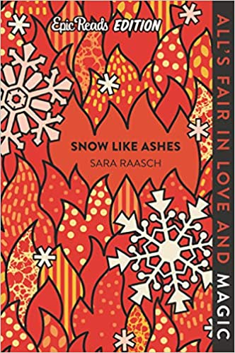 snow like ashes, book review, book cover